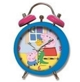 Wecker Peppa Pig in blau