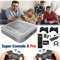 Super Console X-pro Video Wireless Game Console 4KHDMI für PS1/PSP/SFC/N64/DS/MD
