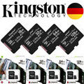 KINGSTON micro SD Karte + ADAPTER 100MB/s A1 Speicherkarte 16GB 32GB 64GB 128GB